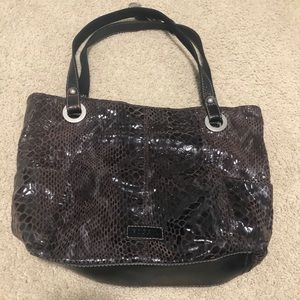 Snake skin Fossil purse